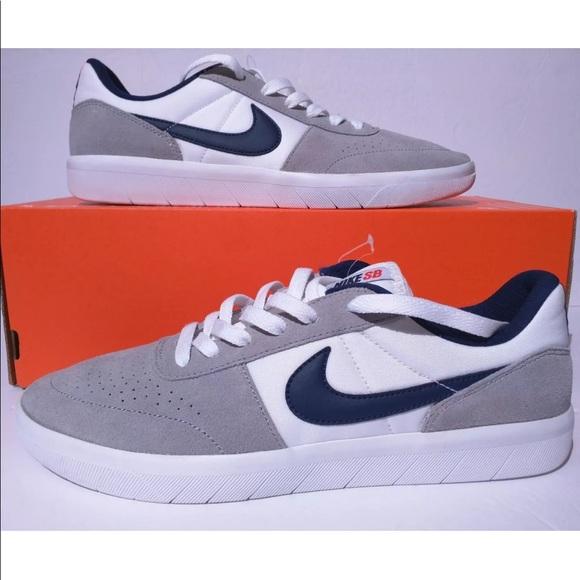 313be87a6877d Nike Shoes | Sb Team Classic Skate Shoe Wolf Grey Blue | Poshmark
